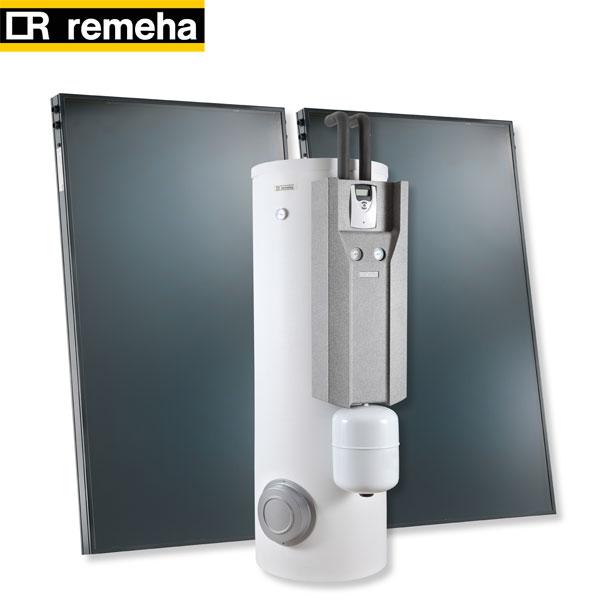 Solar Komplett Paket Solarpaket NOVA 300 S-5 von Remeha