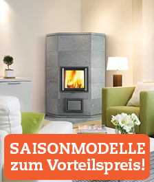 Nunnauuni Specksteinofen SagaAngolo Saisonmodell Herbst-Winter 2016