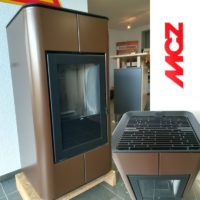 Ausstellungs-Pelletofen von MCZ, Modell NATURAL Tray, zum Vorzugspreis