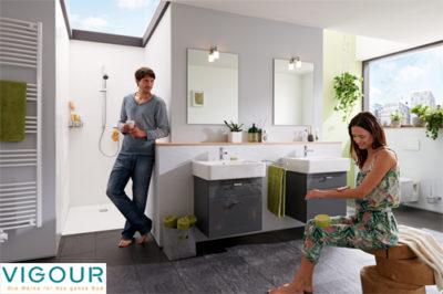 Vigour, die Marke für das ganze Bad